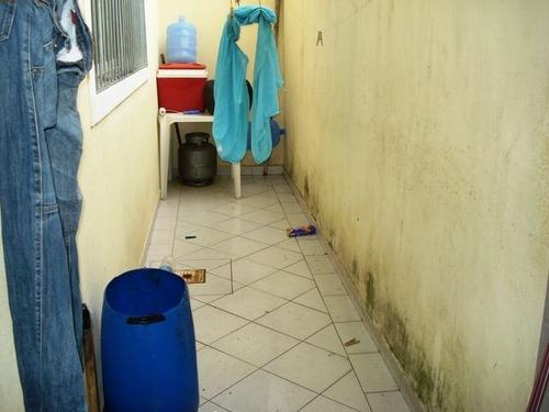 ref.: 598100 - casa em praia grande, no bairro guilhermina - 2 dormitórios