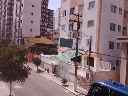 ref.: 599 - apartamento em praia grande, no bairro canto do forte - 1 dormitórios