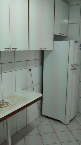 ref.: 60 - apartamento em praia grande, no bairro guilhermina - 2 dormitórios