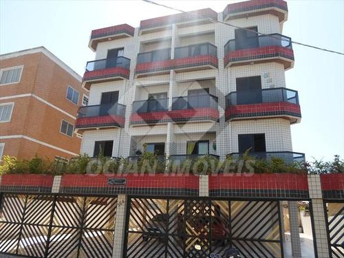 ref.: 60 - apartamento em praia grande, no bairro mirim - 2 dormitórios