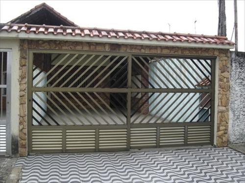 ref.: 60 - casa em praia grande, no bairro maracana - 2 dormitórios