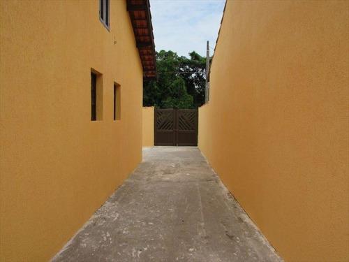 ref.: 600 - casa em mongaguá, no bairro florida mirim - 2 dormitórios