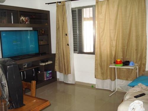 ref.: 601300 - casa em praia grande, no bairro canto do forte - 2 dormitórios