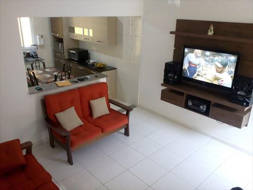 ref.: 602 - casa condomínio fechado em mongaguá, no bairro jardim praia grande - 2 dormitórios