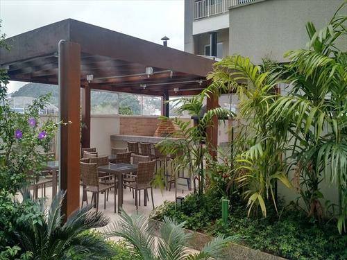 ref.: 6023 - apartamento em santos, no bairro vila matias - 1 dormitórios