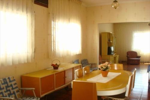 ref.: 605 - casa em praia grande, no bairro guilhermina - 2 dormitórios