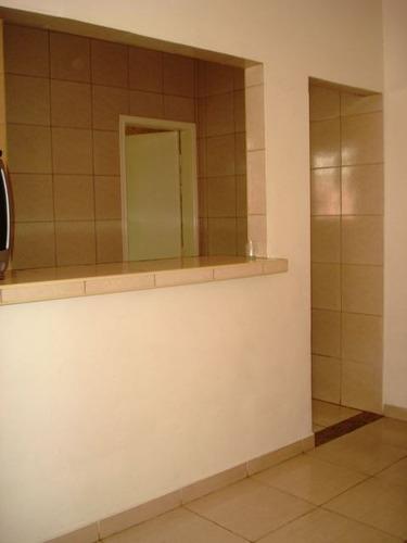 ref.: 605000 - casa em praia grande, no bairro guilhermina - 1 dormitórios