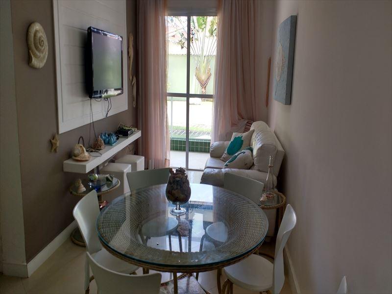 ref.: 607 - apartamento em bertioga, no bairro centro - 2 dormitórios