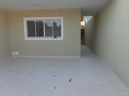 ref.: 607 - casa em praia grande, no bairro canto do forte - 3 dormitórios