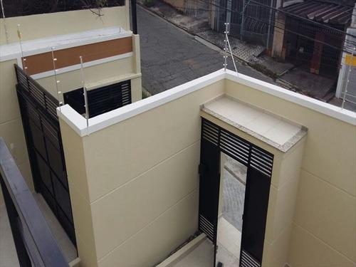 ref.: 6076 - casa em sao paulo, no bairro vila dom pedro ii - 2 dormitórios