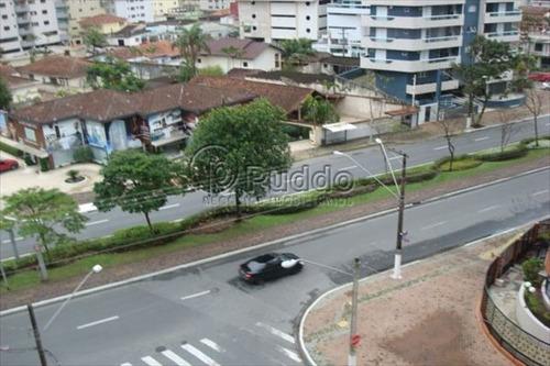 ref.: 608 - apartamento em praia grande, no bairro canto do forte - 2 dormitórios