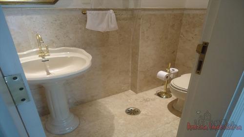 ref.: 6087 - apartamento em sao paulo, no bairro higienopolis - 3 dormitórios