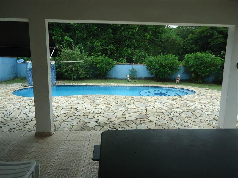 ref.: 609 - casa condomínio fechado em bertioga, no bairro guaratuba costa do sol - 3 dormitórios