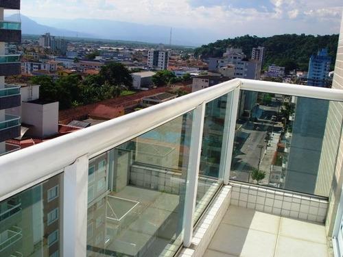 ref.: 609100 - apartamento em praia grande, no bairro boqueirao - 2 dormitórios