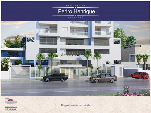 ref.: 610 - apartamento em mongaguá, no bairro vila são paulo - 3 dormitórios