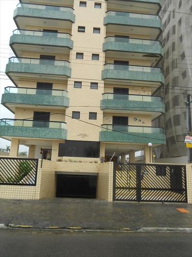 ref.: 610 - apartamento em praia grande, no bairro caicara - 1 dormitórios