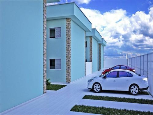 ref.: 613 - casa em bertioga, no bairro jardim rio da praia - 2 dormitórios