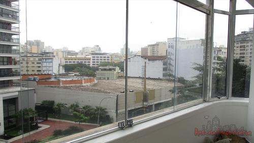 ref.: 6144 - apartamento em sao paulo, no bairro santa cecilia - 1 dormitórios