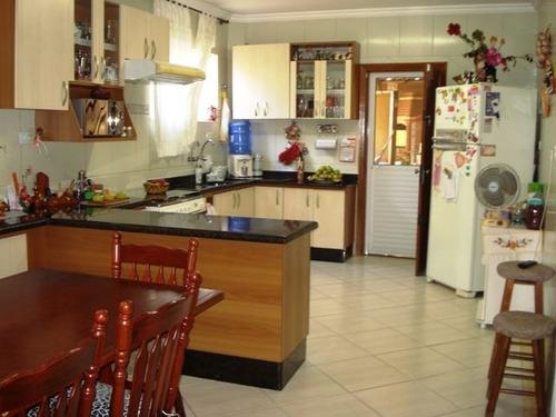 ref.: 614600 - casa em praia grande, no bairro guilhermina - 3 dormitórios