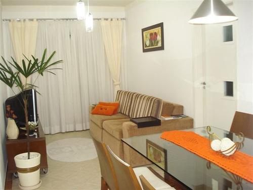 ref.: 6149 - apartamento em praia grande, no bairro canto do forte - 2 dormitórios