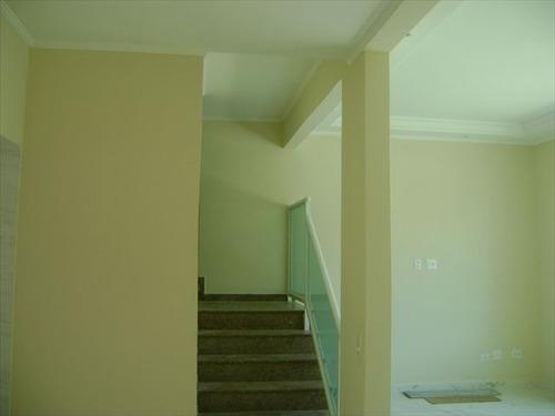 ref.: 6161 - casa em santos, no bairro aparecida - 3 dormitórios