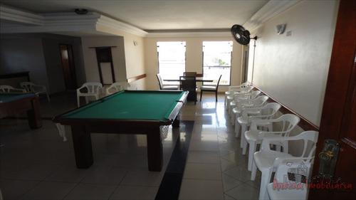 ref.: 6185 - apartamento em praia grande, no bairro guilhermina - 2 dormitórios