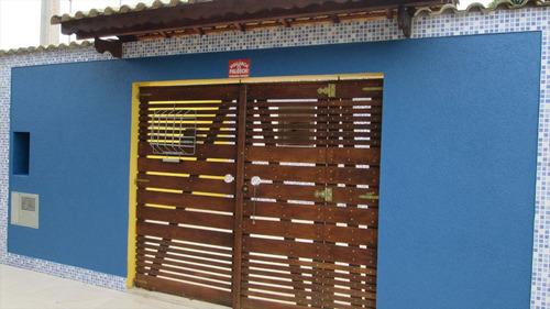 ref.: 6200 - casa em itanhaém, no bairro vl nova itanhaém - 2 dormitórios