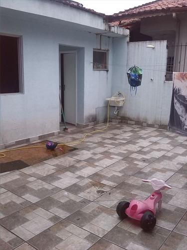 ref.: 62001 - casa em praia grande, no bairro mirim - 2 dormitórios