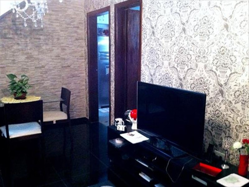 ref.: 6209 - casa condomínio fechado em sao paulo, no bairro vila nilo - 2 dormitórios