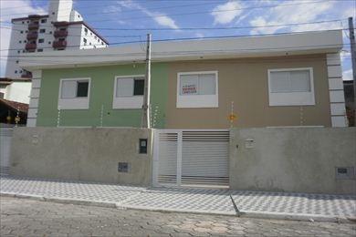 ref.: 621 - casa em praia grande, no bairro canto do forte - 3 dormitórios