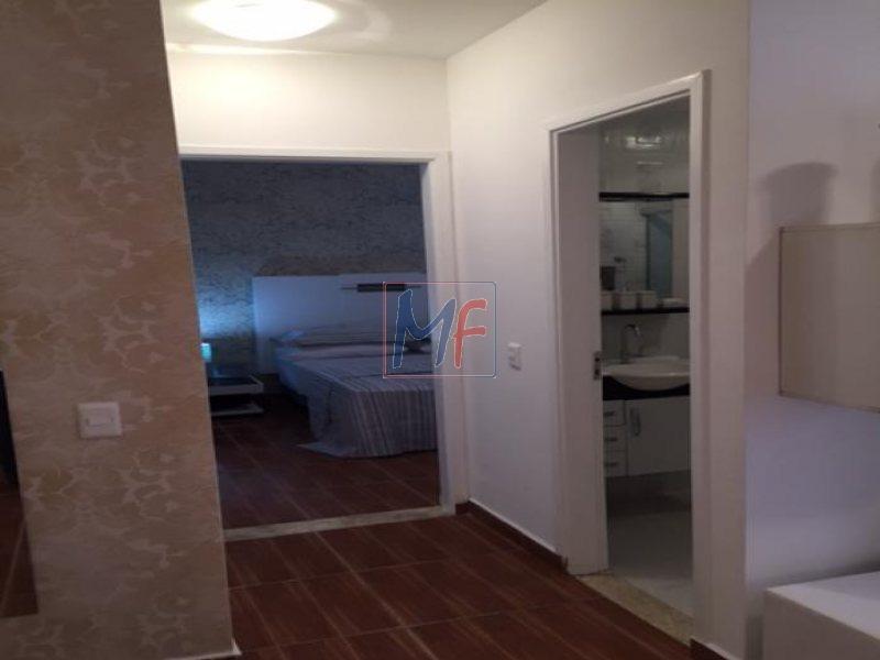ref  6219  apto. totalmente mobiliado com móveis e eletrodomésticos,2 vagas. - 6219