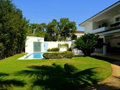 ref.: 6226 - casa condomínio fechado em guaruja, no bairro acapulco - 5 dormitórios