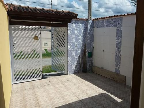 ref.: 623 - casa em itanhaém, no bairro tupy - 2 dormitórios