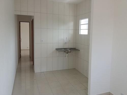 ref.: 626 - casa em itanhaém, no bairro umuaramaa - 2 dormitórios