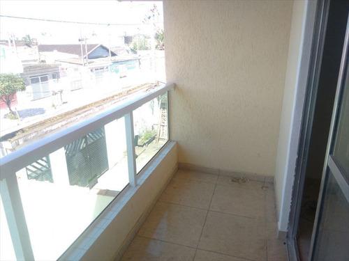 ref.: 62801 - casa condomínio fechado em praia grande, no bairro quietude - 2 dormitórios