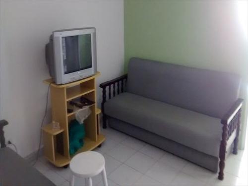 ref.: 629 - apartamento em praia grande, no bairro caicara - 1 dormitórios