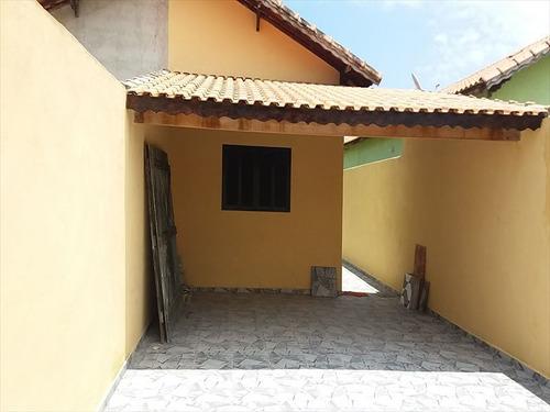 ref.: 629 - casa em mongaguá, no bairro vila atlantica - 3 dormitórios