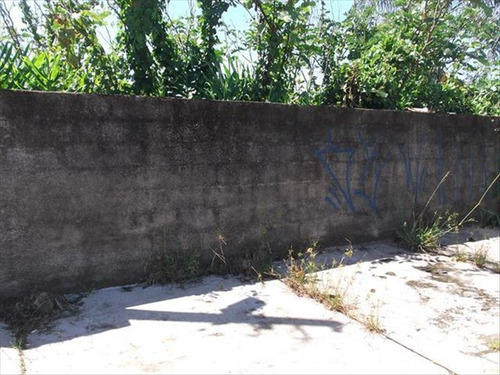 ref.: 629 - terreno em itanhaem, no bairro bopiranga