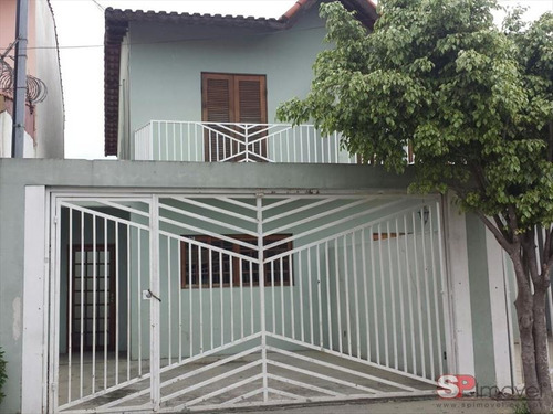 ref.: 6290 - casa em sao paulo, no bairro vila mazzei - 2 dormitórios