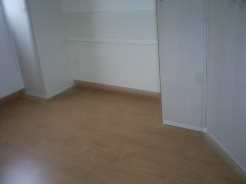 ref.: 6291 - apartamento em santos, no bairro encruzilhada - 2 dormitórios
