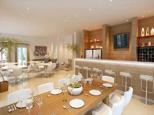 ref.: 632800 - apartamento em praia grande, no bairro guilhermina - 3 dormitórios