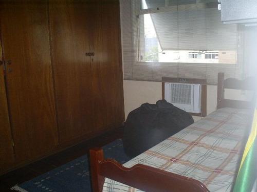 ref.: 6349 - apartamento em santos, no bairro ponta da praia - 3 dormitórios