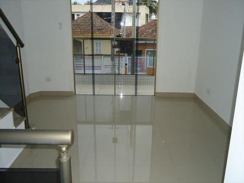 ref.: 6367 - casa em são vicente, no bairro vila valença - 2 dormitórios
