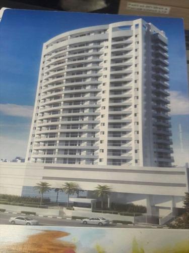 ref.: 637 - apartamento em santos, no bairro boqueirao - 2 dormitórios