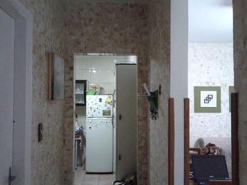 ref.: 6372 - apartamento em santos, no bairro aparecida - 2 dormitórios