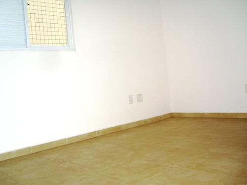 ref.: 6408 - casa em santos, no bairro aparecida - 3 dormitórios