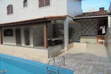 ref.: 64106 - casa em mongagua, no bairro jd praia grande - 3 dormitórios