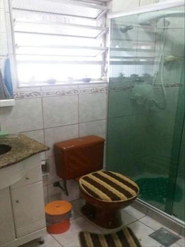 ref.: 6416 - casa em santos, no bairro marape - 2 dormitórios