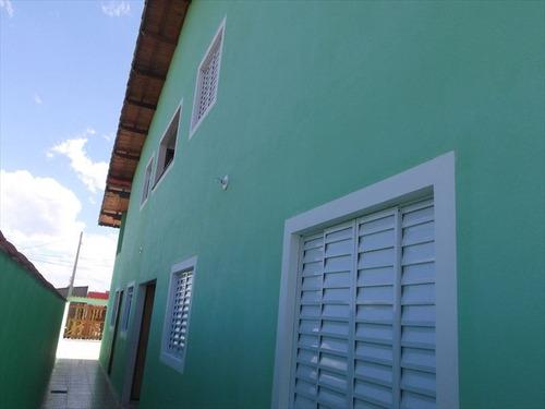 ref.: 642 - casa em itanhaem, no bairro tupi - 2 dormitórios
