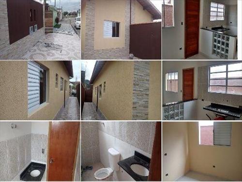ref.: 644 - casa em mongaguá, no bairro agenor de campos - 2 dormitórios